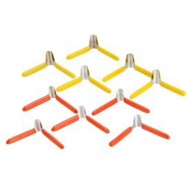 10pcs KLOM Aluminum Plastic Plane-shaped Clamp Lock Pick Tool Set