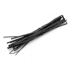 1M 5-Piece Heat Shrink Tube Kit (0.8/1.5/2.5/3.5/4.5mm) Black