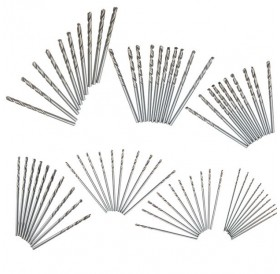 10pcs 2.3mm Micro Straight Shank HSS Twist Drilling Bit