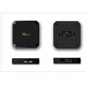 X96 Mini Android 7.1 TV BOX 1GB 8GB Amlogic S905W MultiMedia Players - US Plug With G10 Voice Remote Control