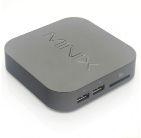 MINIX NEO X7 Mini 2GB RAM/8GB ROM Android 4.2.2 Quad-Core Google TV Player with A2 Air Mouse Black