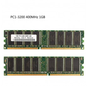 1GB DDR1-400MHz Memory PC1-3200 184pin Non-ECC DIMM Ram memory