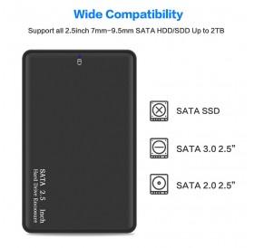 HDD Case 2.5 SATA to USB 3.0 Hard Drive Enclosure for SSD Disk HDD Box