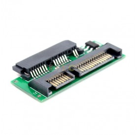 1.8 Inch Micro SATA HDD SSD 3.3V to 2.5 Inch 22PIN SATA 5V Adapter
