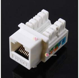 1 PC Cat5E 110 Punch Down Keystone Jack RJ45 CAT5 Network
