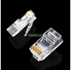 1000 Pieces 8P8C RJ45 Modular Plug for Network CAT5 LAN