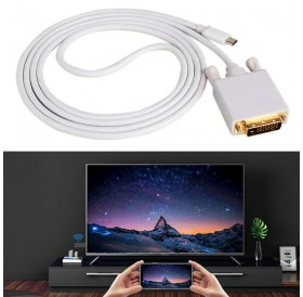 USB C To DVI Cable Type C To DVI Adapter Thunderbolt Compatible for MacBook Pro 2016 2017galaxy S8 Note8