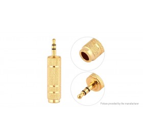 3.5mm to 6.35mm Audio Adapter (3-Pack)