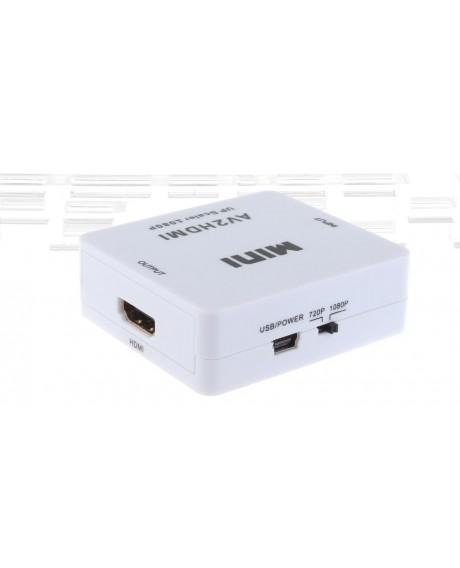 3*RCA AV to HDMI Converter Adapter