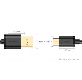 UGREEN USB-C to USB 2.0 Data Sync / Charging Cable (50cm)