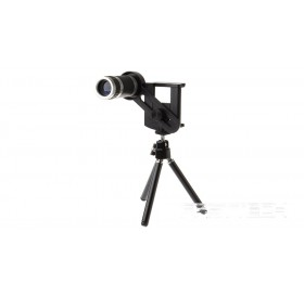 Mobile Phone 8X Telescope Long Focal Lens w/ Tripod
